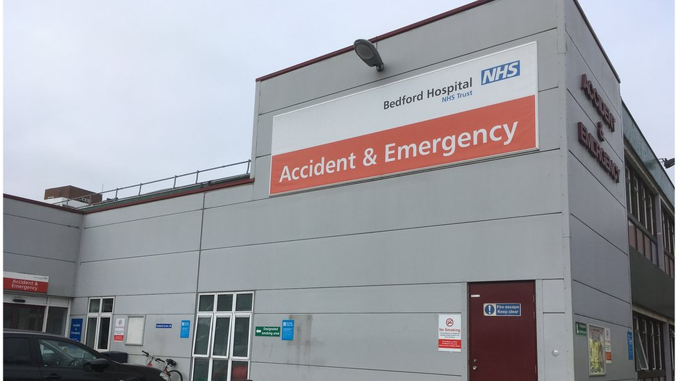 Bedford Hospital nurse struck off for 'squeezing' patient's breasts