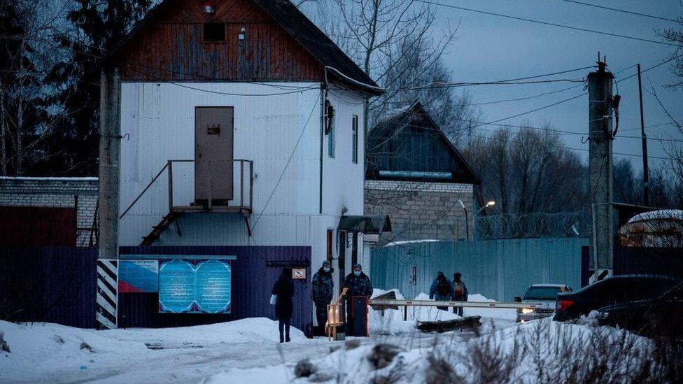 cárcel IK2 Rusia