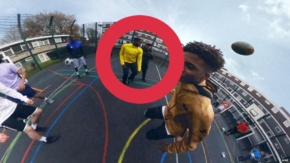varilla objetivo Influencia  Nike London advert: The inside story from some who feature - BBC News