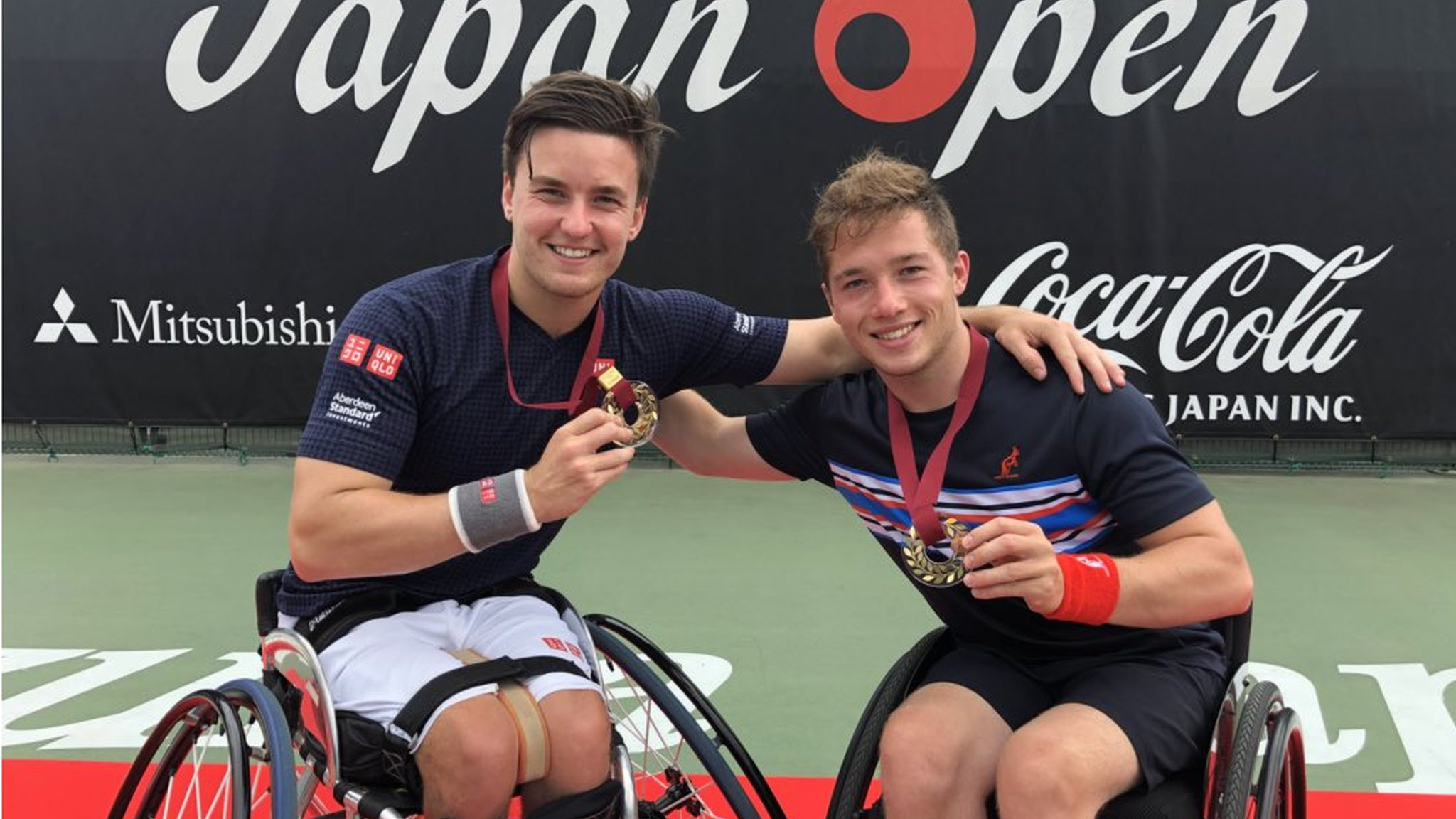 Japan Open: Alfie Hewett and Gordon Reid win men's doubles title