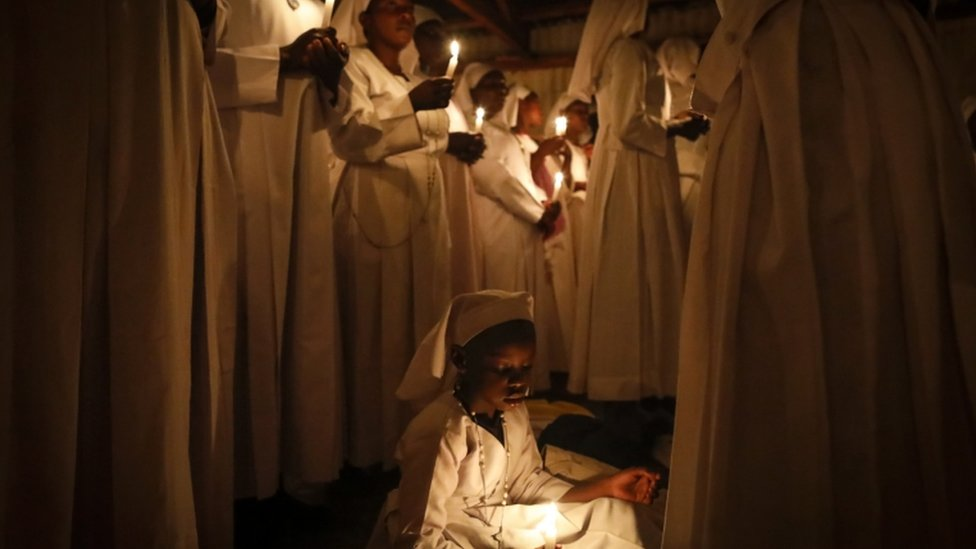 In pictures: Easter celebrated around the world