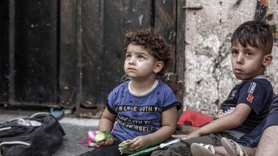 الآلاف من أطفال غزة يحتاجنن لدعم نفسي وفقا لليونيسيف