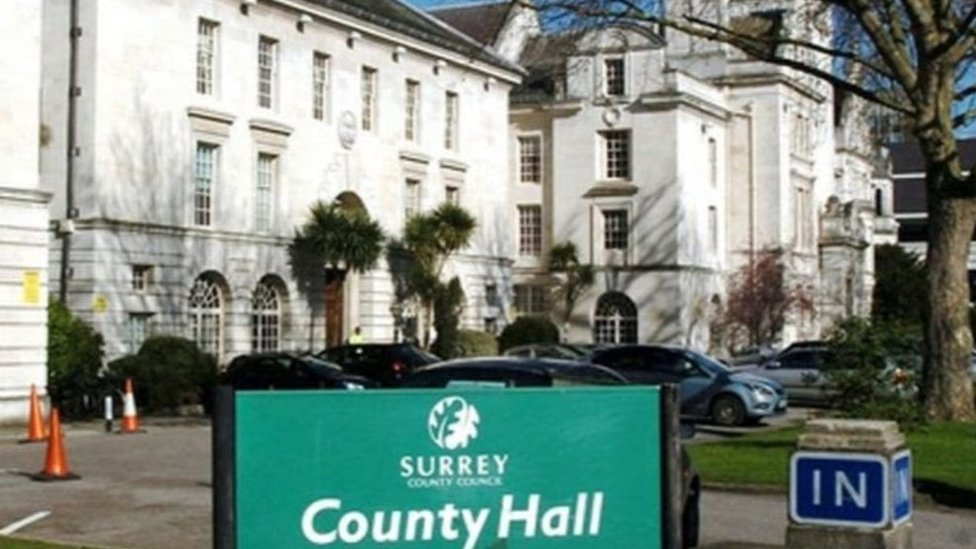 Surrey County Council accountants issue finance warning