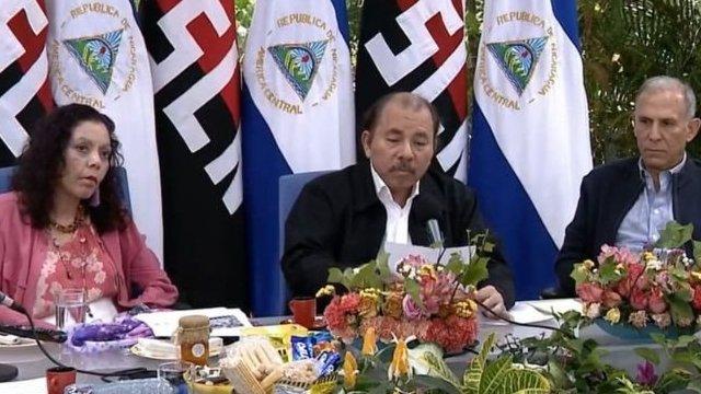 Rosario Murillo y Daniel Ortega