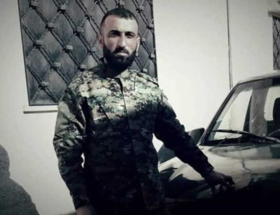 Maj Kinan Farzat is one of the Syrian National Army soldiers reported to have died in Nagorno-Karabakh
