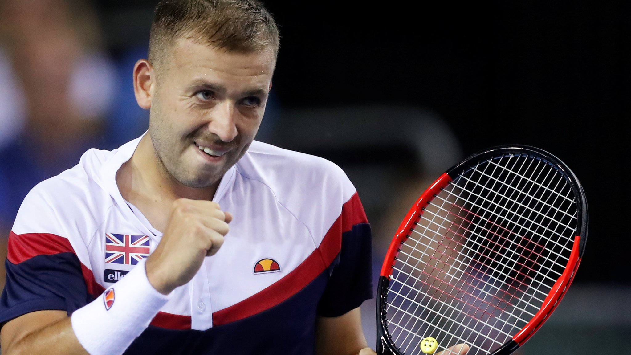 Davis Cup 2018: Great Britain 1-1 Uzbekistan after Dan Evans wins but Cameron Norrie loses