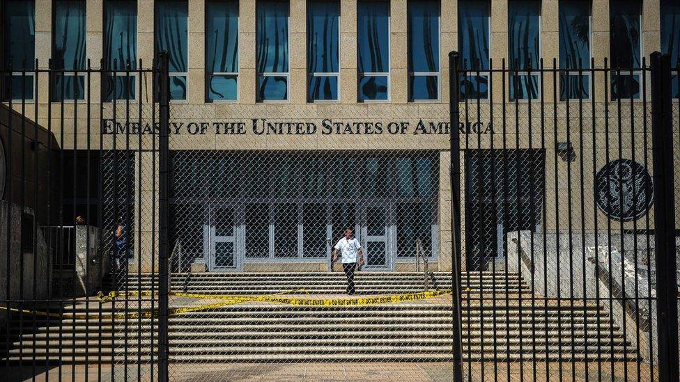 السفارة الأمريكية في كوبا