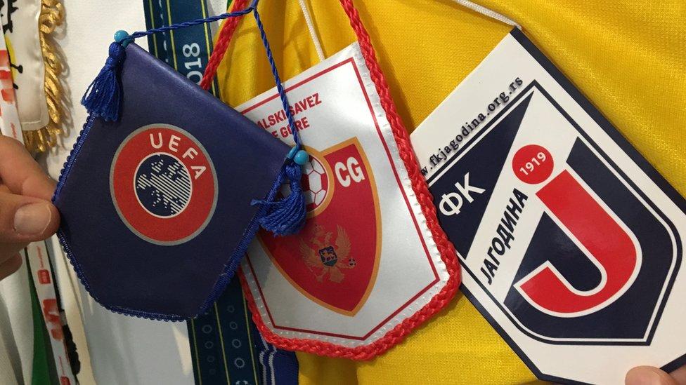 Zastavice u redakciji Sportifika