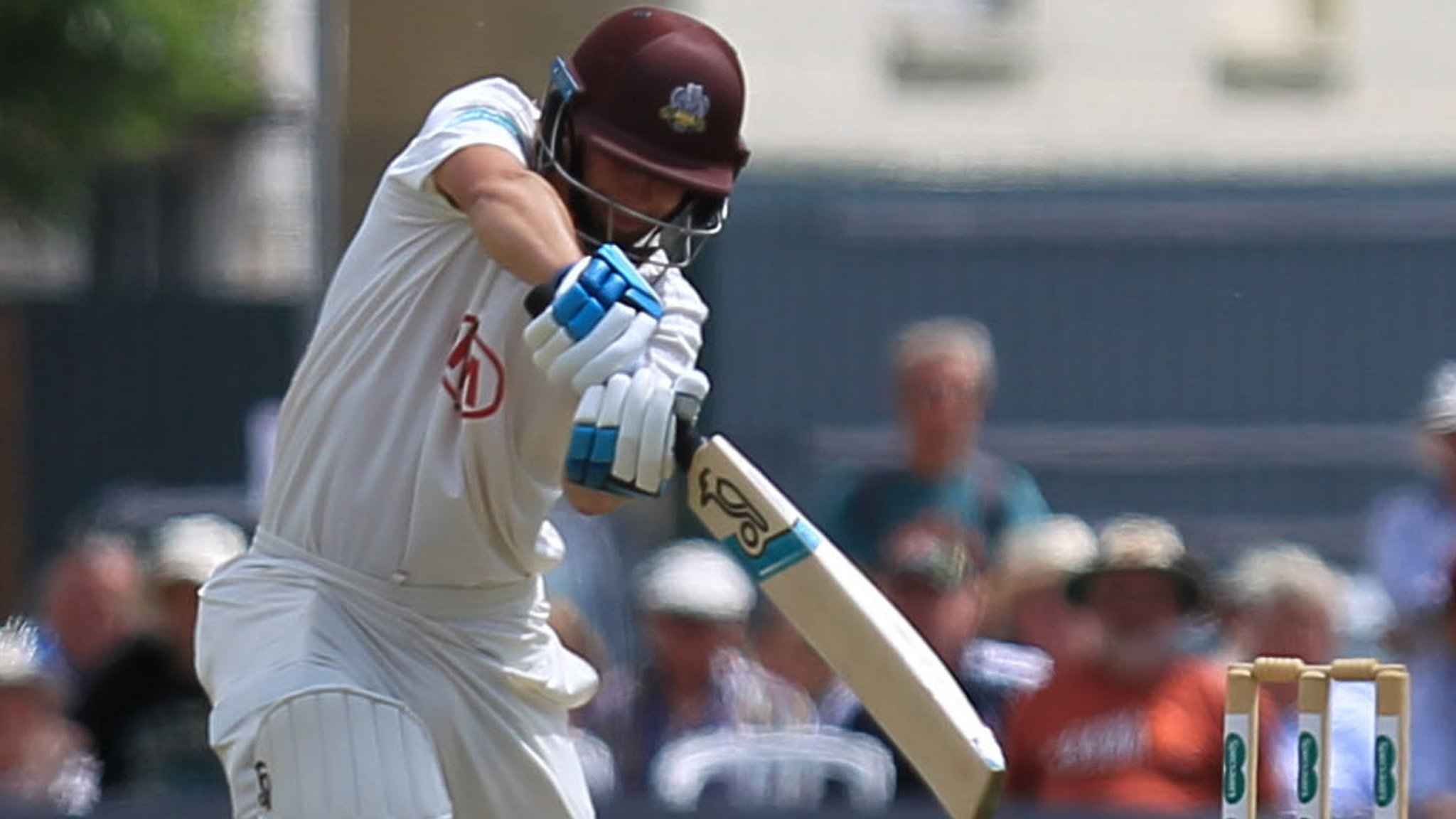 County Championship: Surrey make good start against Somerset