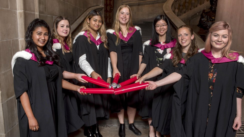 First female medical students get degrees at last - BBC News