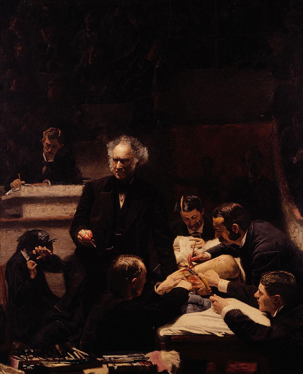 La clínica de Gross de Thomas Eakins