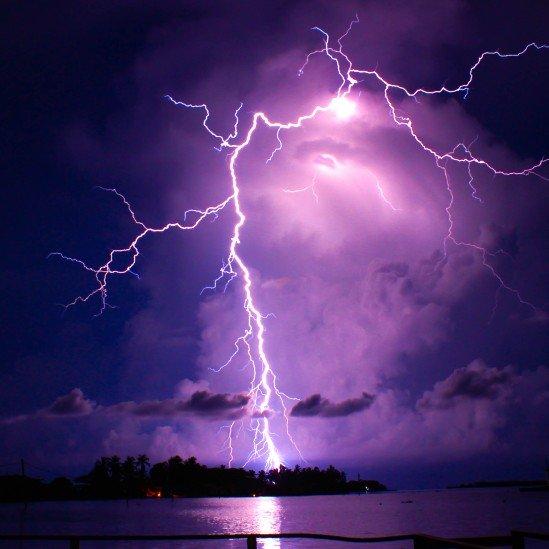 Una tormenta elécctrica