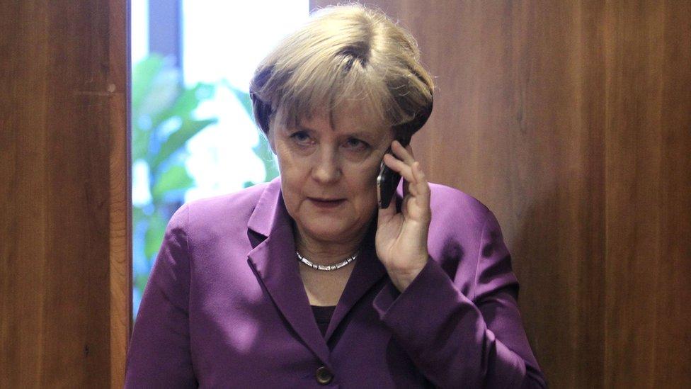 التقرير ذكر أن عملية التجسس طالت مسؤولين أوروبيين بارزين من بينهم أنغيلا ميركل