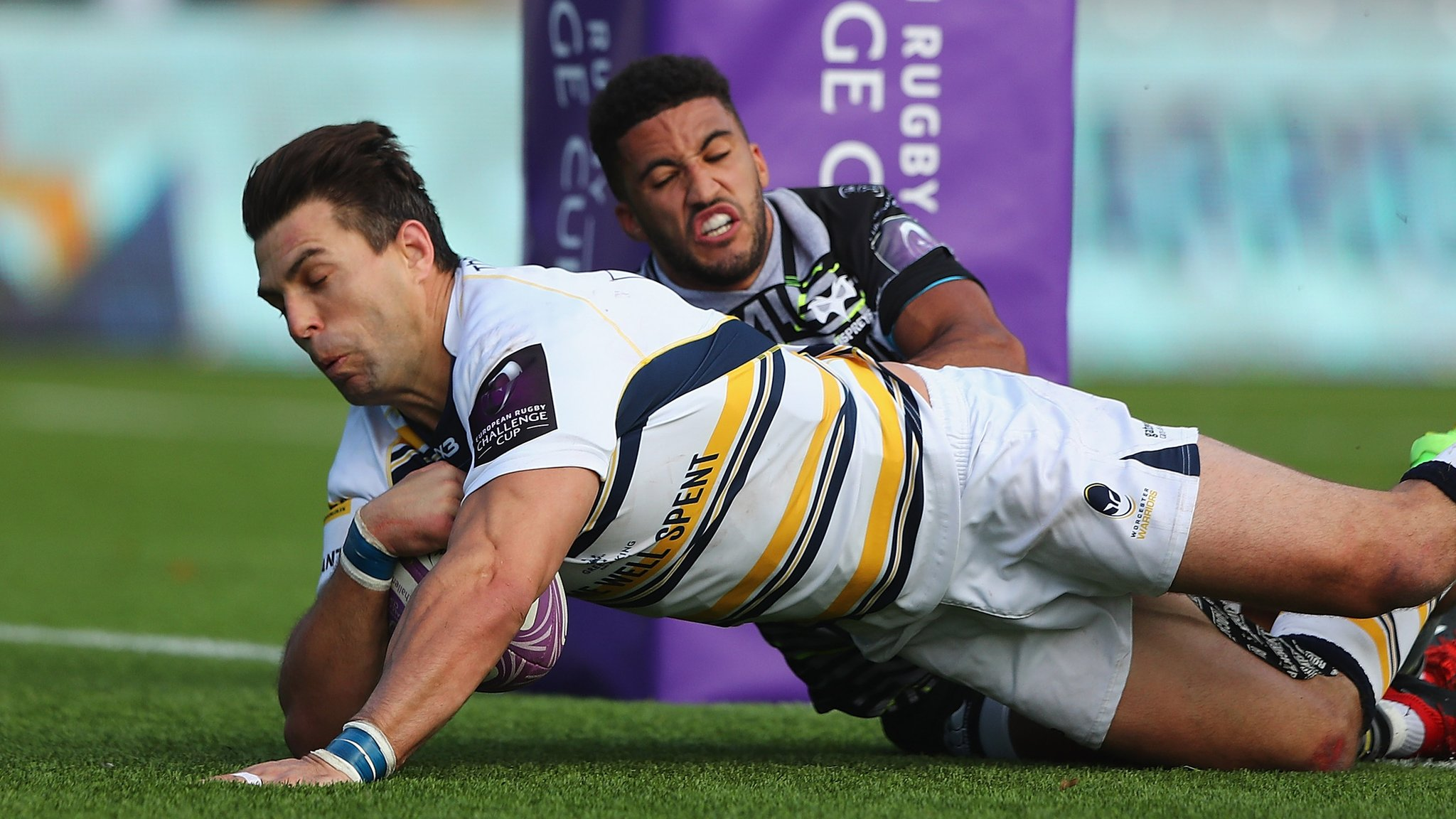 European Rugby Challenge Cup: Worcester 27-21 Ospreys
