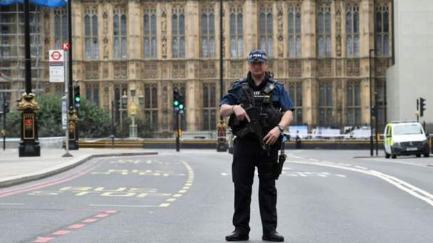 Westminster car crash: Man charged with attempted murder