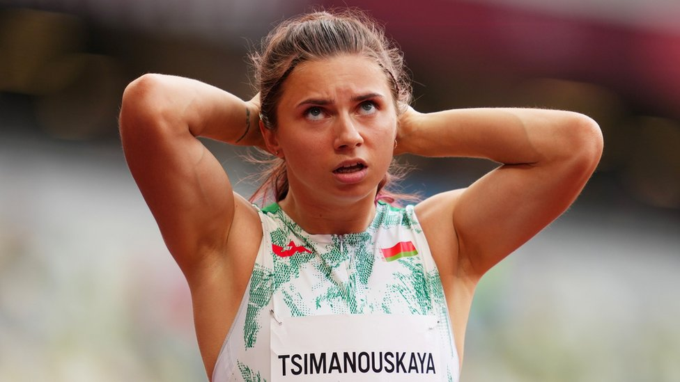 Легкоатлетка Тимановская получила польскую визу. Ее хотели насильно вернуть в Беларусь