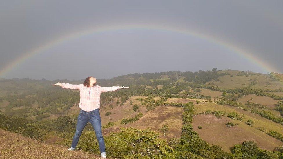 Arcoiris en San Rafael del Norte, Jinotega-Nicaragua