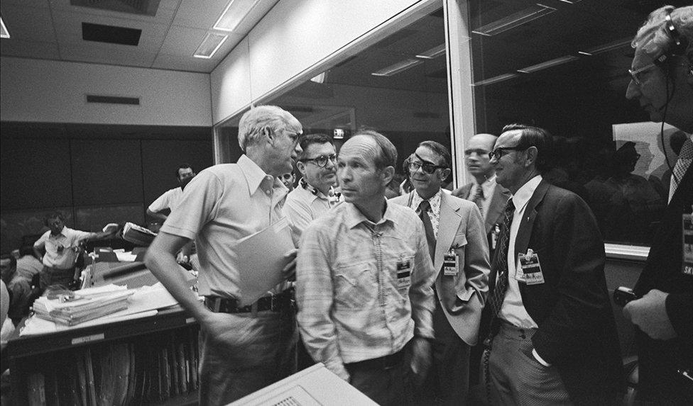 Misión de control del Skylab 4 de la NASA.