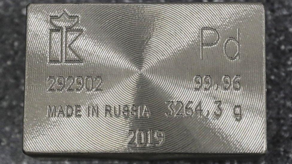 More Precious Than Gold Why The Metal Palladium Is Soaring Bbc News