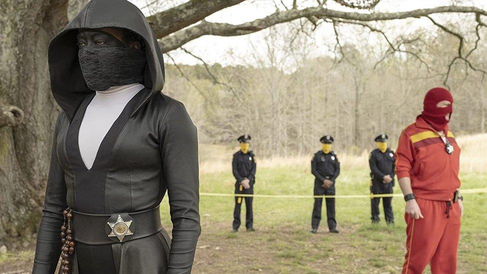 Una escena de Watchmen