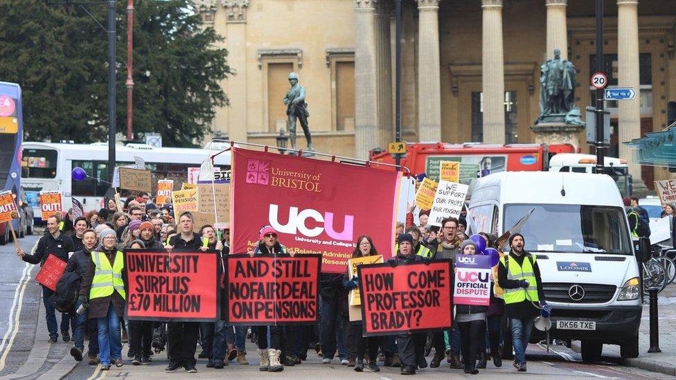 Strike rally in Bristol
