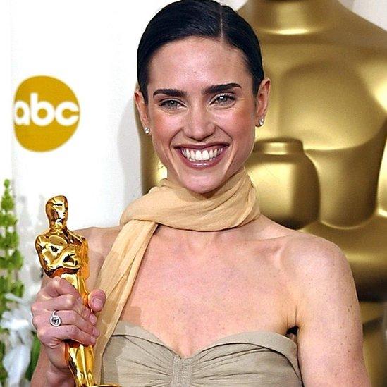 Jennifer Connelly con el Oscar