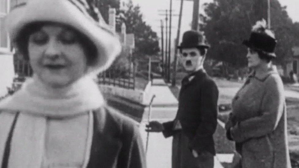 Charlie Chaplin: The original distracted boyfriend