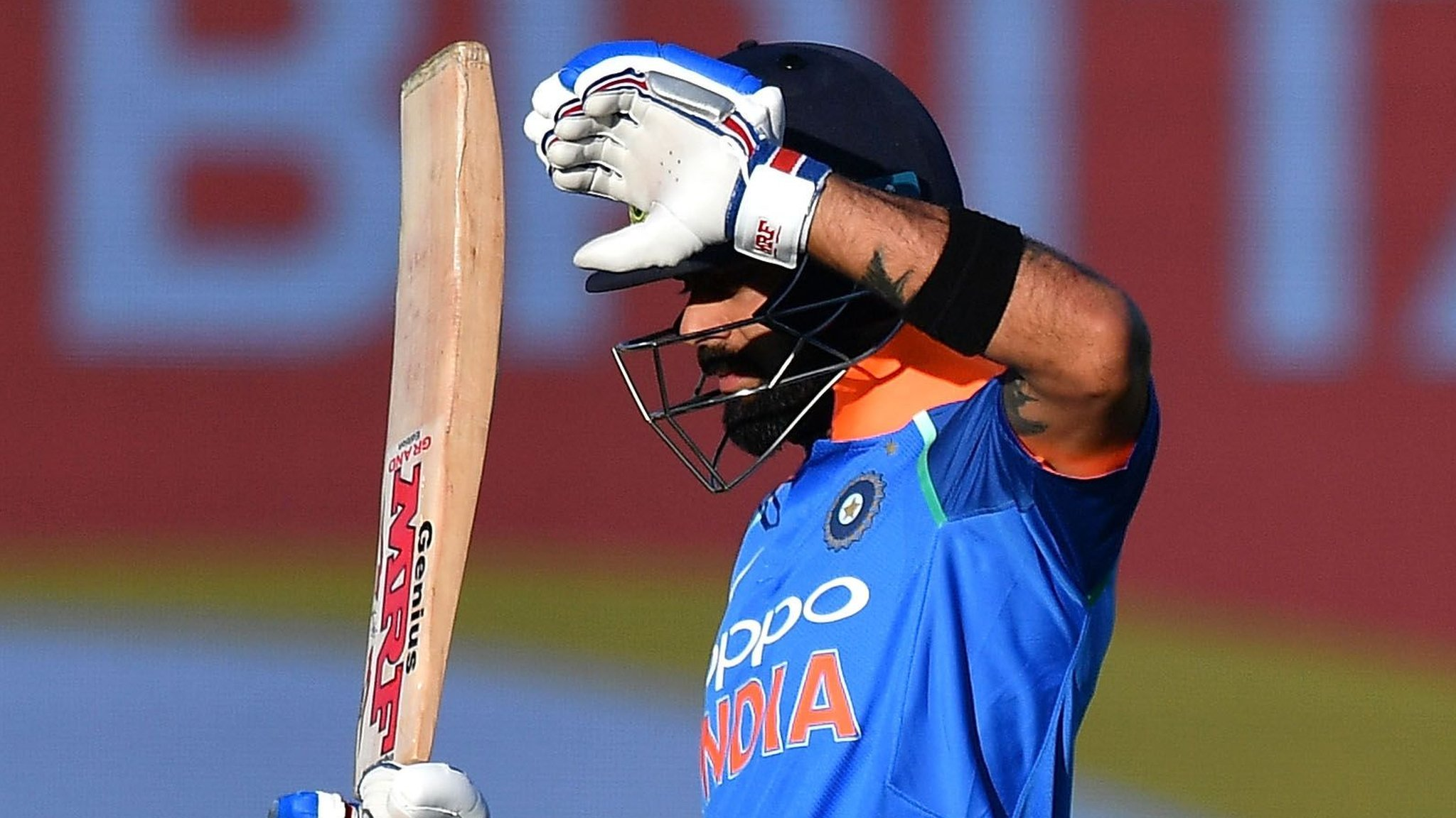 Sun stops play as India beat New Zealand in ODI