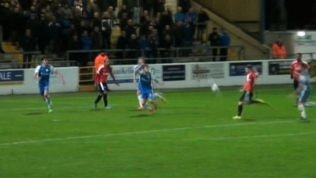 Dover Athletic score a stunning Barcelona-style team goal during their 1-1 draw against Chester FC