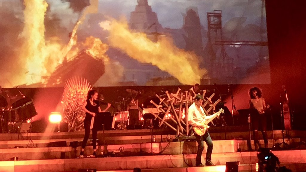 Game of Thrones concert goes on tour