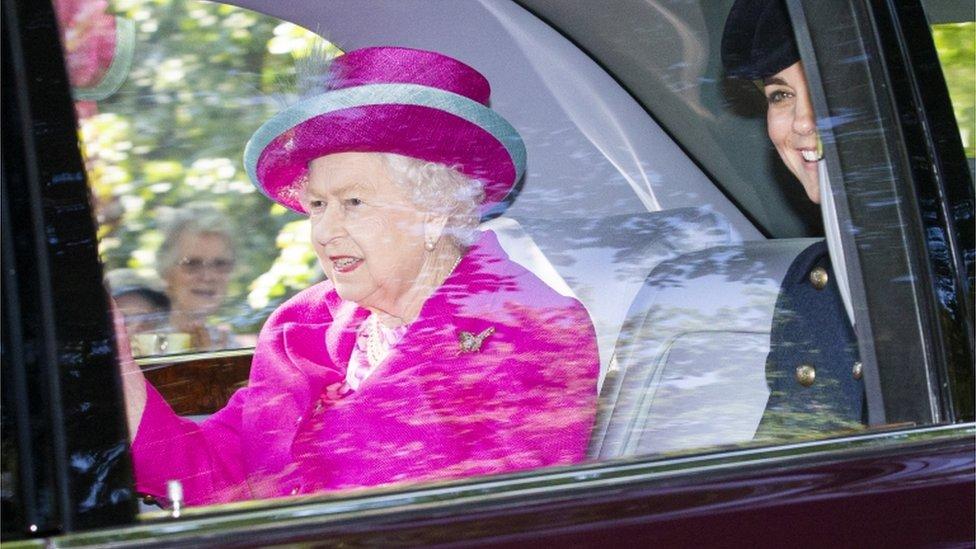 Queen at Balmoral