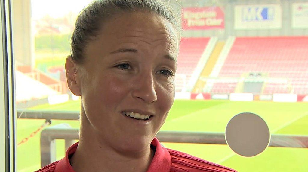 Manchester United Women: Casey Stoney 'not trying to emulate anybody'