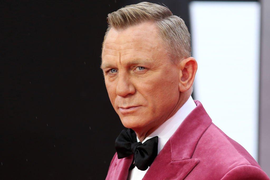 """Daniel Craig en el estreno de la película """"No hay tiempo para morir"""""""