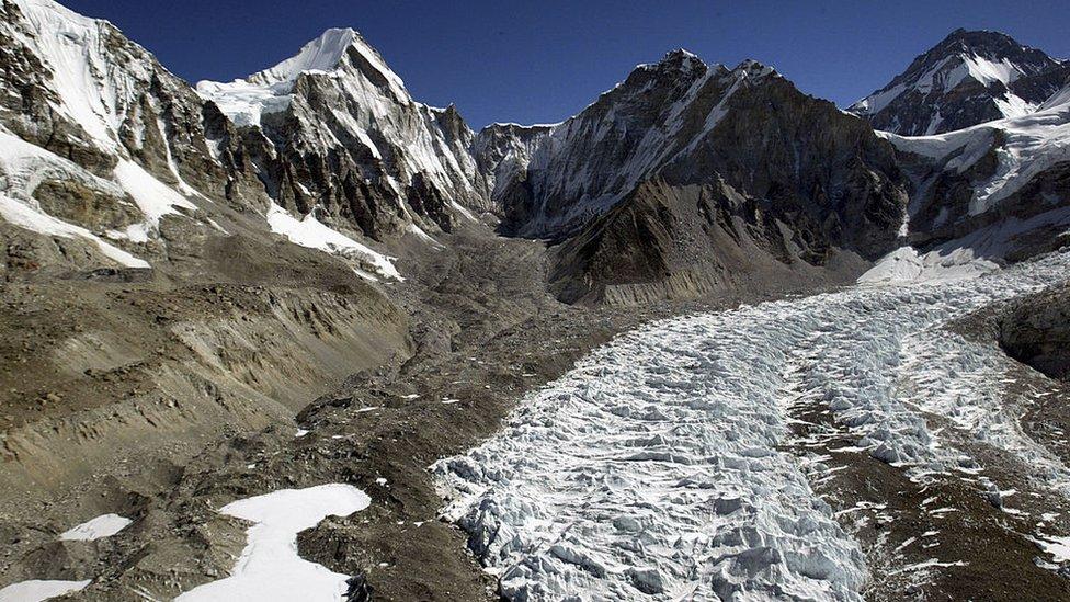 Montañas del Tíbet.