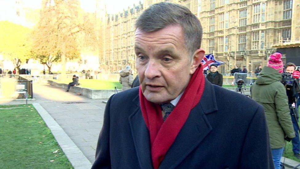 Boris Johnson Can Take On Big Personality Farage Says Mp Bbc News