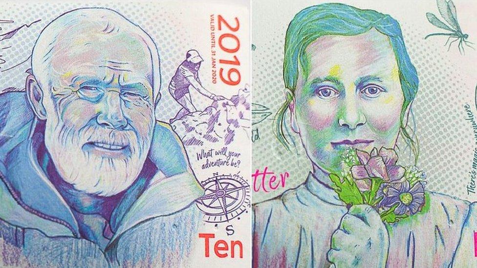Lake District Pound: Chris Bonington and Beatrix Potter on new pound