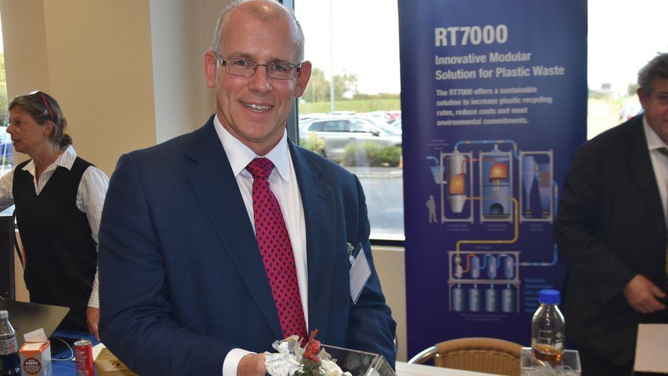Adrian Griffiths of Recycling Technologies