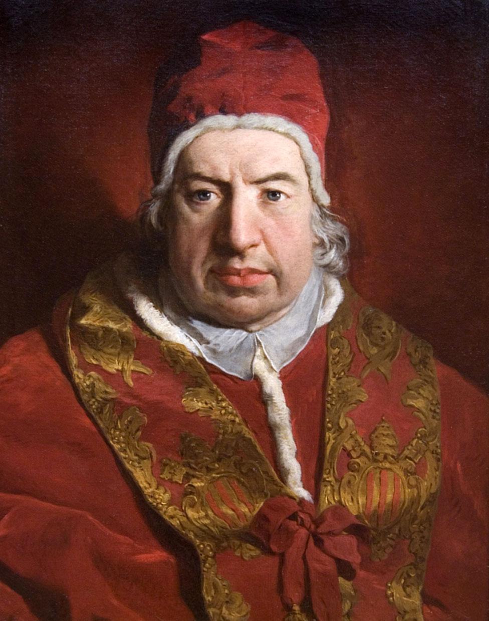 El papa Benedicto XIV