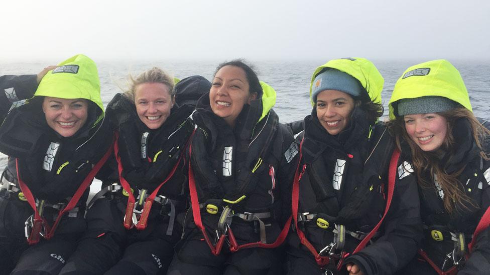 """Leiva asegura que es fundamental que las mujeres se interesen en la crisis del plástico en los océanos. """"Al tener hijos podemos pasar estos químicos tóxicos a la siguiente generación mediante la lactancia""""."""