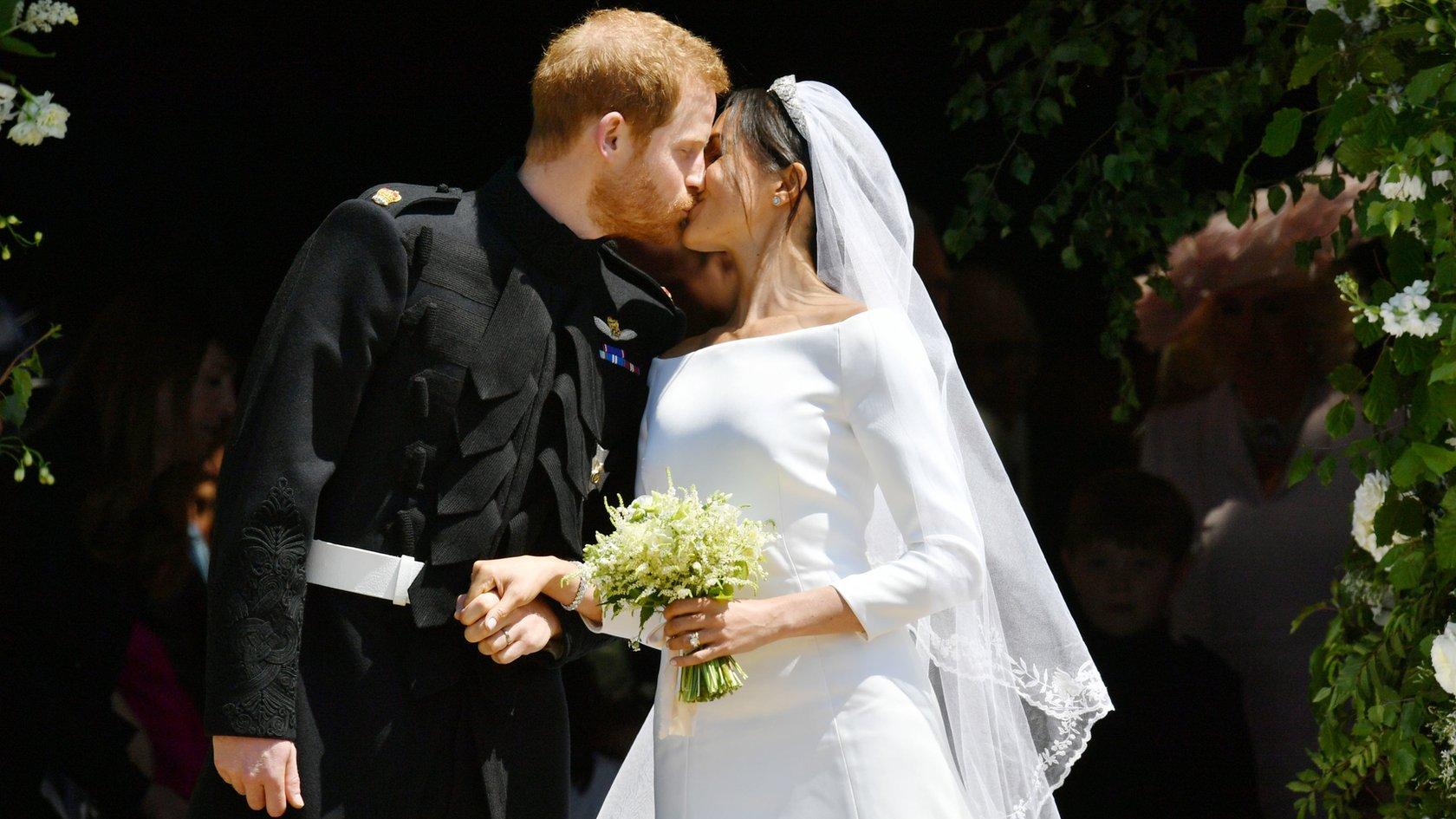 6cf0417769865 الزفاف الملكي البريطاني  زواج الأمير هاري وميغان ماركل - BBC News Arabic