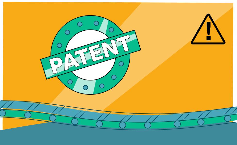Illustration of a patent