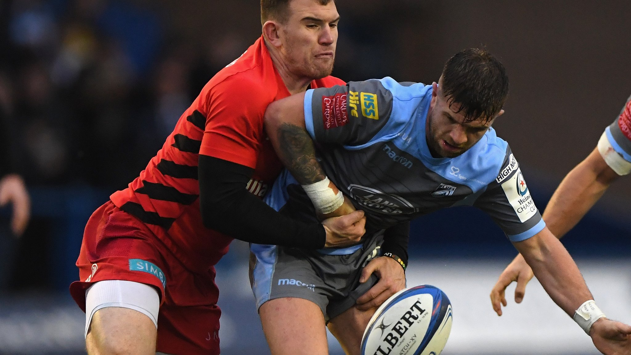 Cardiff's last-eight hopes over as Saracens win again
