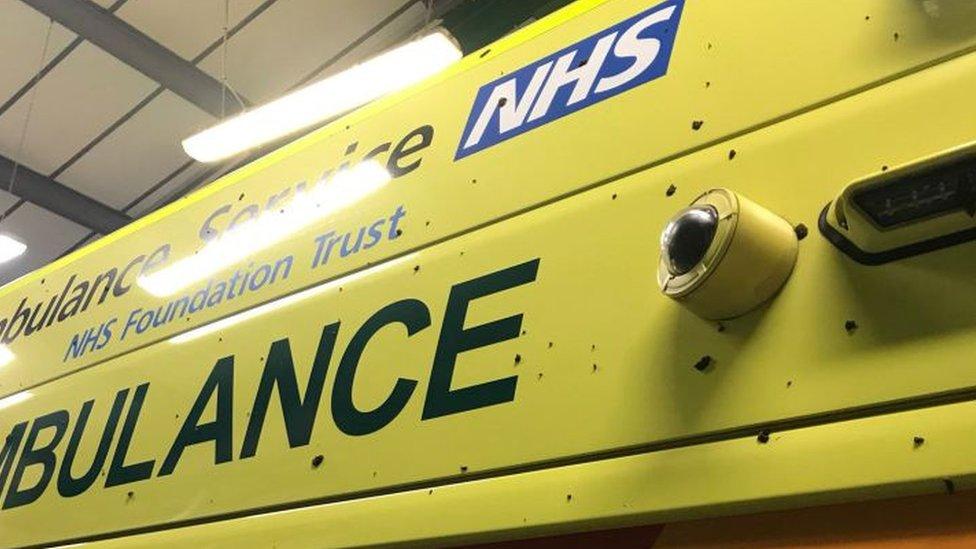 Telford ambulance vandal sentenced to community order
