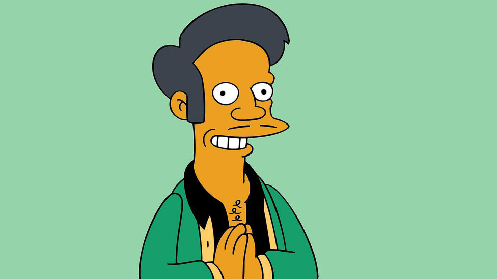 The character Apu from The Simpsons