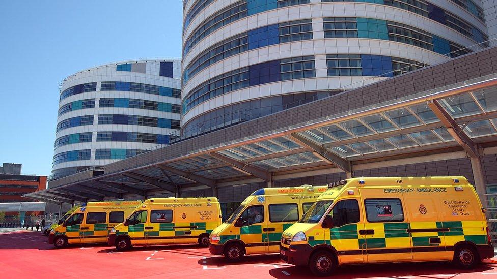 Queen Elizabeth Hospital exterior