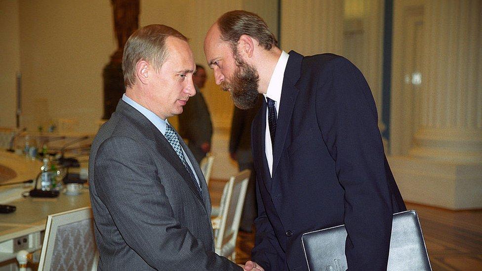 Putin i Sergeй Pugačev