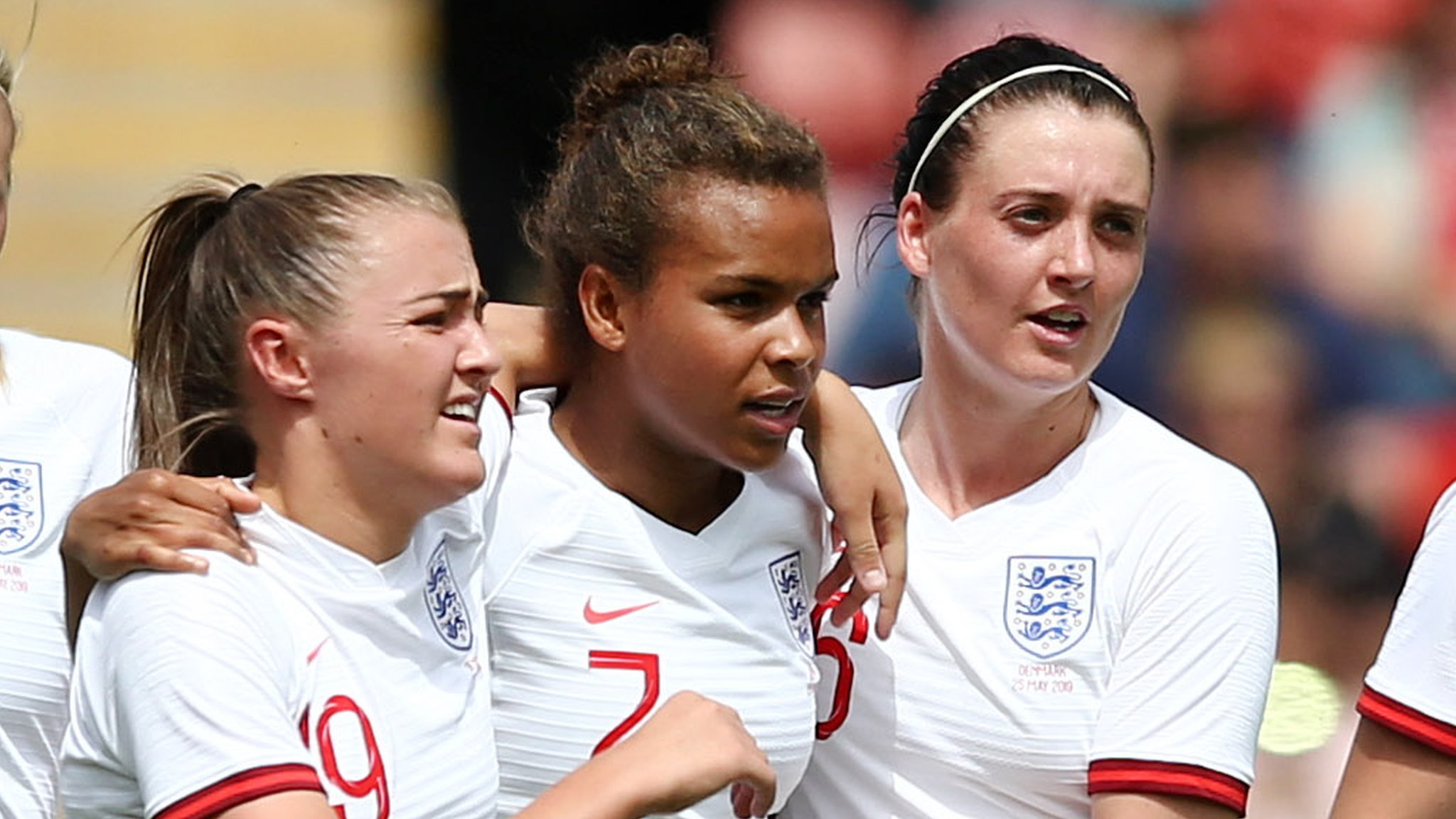 Parris & Scott help England beat Denmark - highlights & report