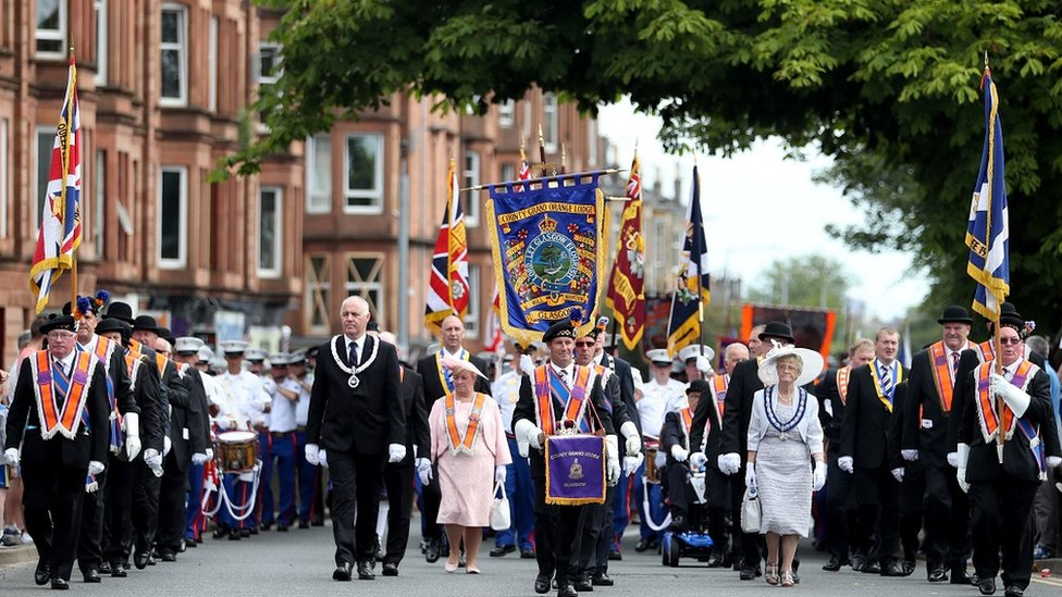 Council to 'force' re-route of Orange walks in Glasgow