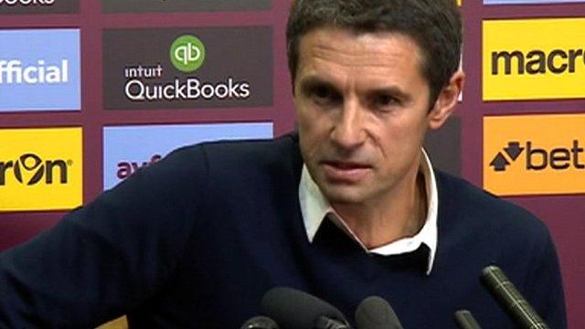 Aston Villa manager Remi Garde