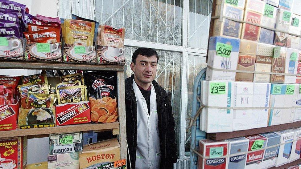 prodavec v Ašhabade